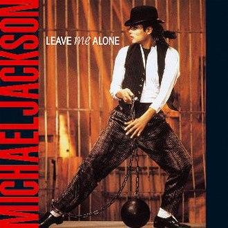 Leave Me Alone - Image: Leave Me Alone (Micheal Jackson single) coverart