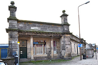 Edinburgh, Leith and Newhaven Railway - Leith North station building; it is now a youth centre