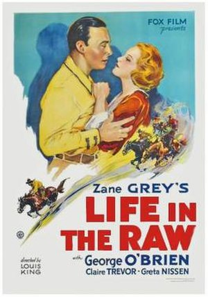 Life in the Raw - Theatrical release poster
