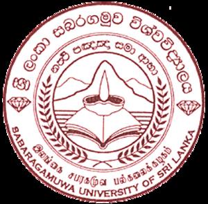 Sabaragamuwa University of Sri Lanka - Seal of Sabaragamuwa University