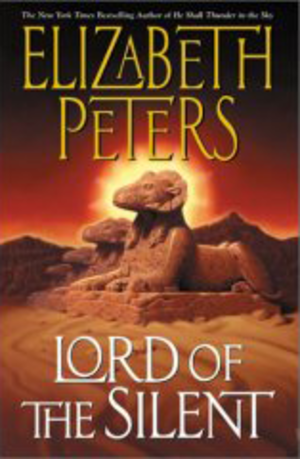 Lord of the Silent - First edition cover for Lord of the Silent