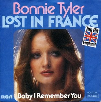 Lost in France - Image: Lost in France Single