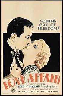 <i>Love Affair</i> (1932 film) 1932 film by Thornton Freeland