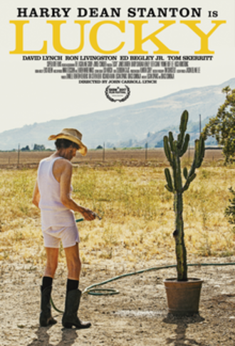 Lucky (2017 American film) - Theatrical release poster