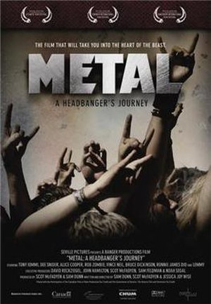 Metal: A Headbanger's Journey - Original Theatrical poster