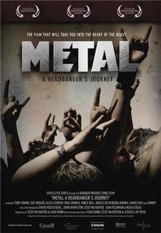 Metal: A Headbanger's Journey - Original Theatrical poster