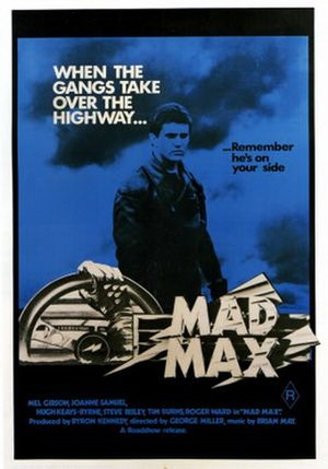 Mad Max - Australian theatrical release poster