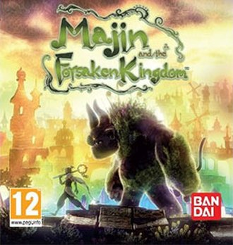 Majin and the Forsaken Kingdom - European box art