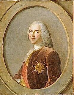 Marc-Pierre de Voyer de Paulmy dArgenson French politician