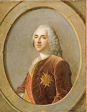 Marc-Pierre de Voyer de Paulmy d'Argenson - Marc-Pierre d'Argenson