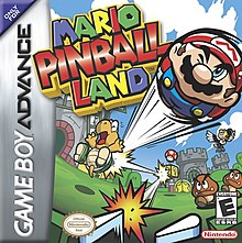 Mario Pinball Land cover art