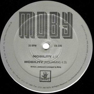 Mobility (song) - Image: Mobility Moby
