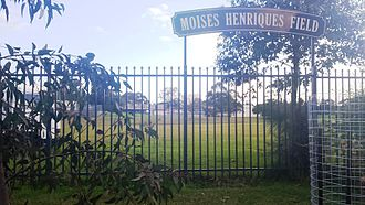 Moises Henriques - Moisés Henriques field at Endeavour High School in Sydney.