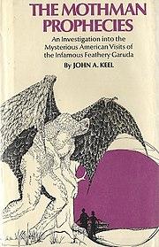 1976 British edition of The Mothman Prophecies.