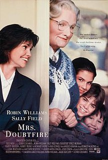 <i>Mrs. Doubtfire</i> 1993 American comedy film directed by Chris Columbus
