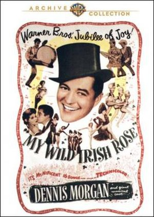My Wild Irish Rose - Theatrical release poster