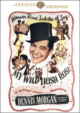 My Wild Irish Rose - Theatrical release poster