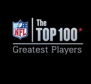 NFL Top 100 - Image: NFL Top 100 logo