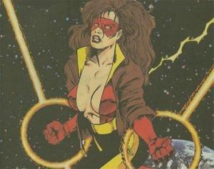 Masked Marvel (Centaur Publications) - Nightmask III (Marcia Beckworth) Protectors