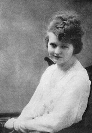 Nan Britton - Britton in 1917
