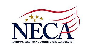 Official logo of the National Electrical Contr...