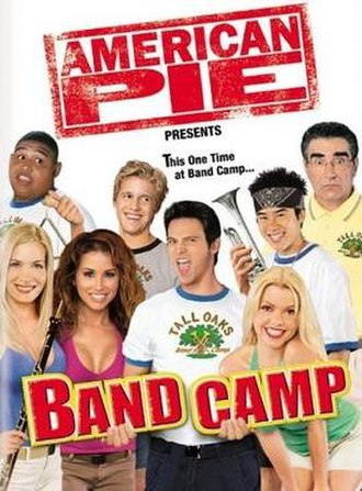 American Pie Presents: Band Camp - DVD cover