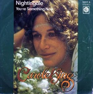 Nightingale (Carole King song) - Image: Nightingale single cover
