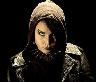 Lisbeth Salander - Lisbeth Salander, as portrayed by Noomi Rapace in the Swedish film series