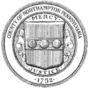 Northampton County, Pennsylvania - Image: Northampton County, Pennsylvania seal