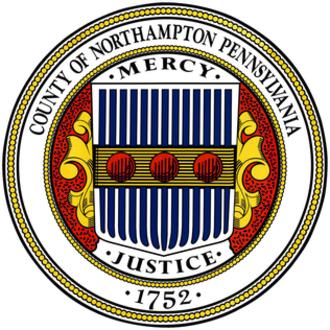 Northampton County, Pennsylvania - Image: Northampton County, Pennsylvania seal