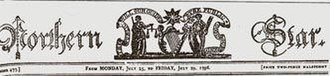 Society of United Irishmen - Masthead of the Northern Star