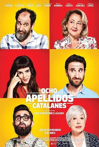 Ocho apellidos catalanes - Theatrical release poster
