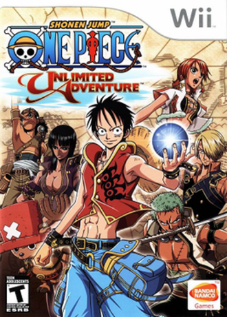 One Piece: Unlimited Adventure - Image: One Piece Unlimited Adventure cover