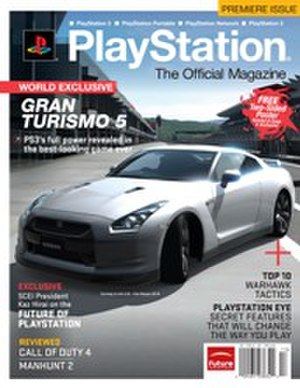 PlayStation: The Official Magazine - The first issue of PTOM