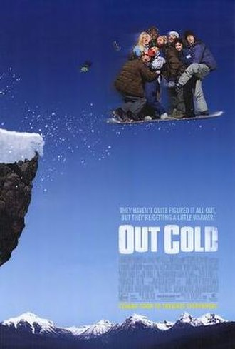Out Cold (2001 film) - Theatrical release poster