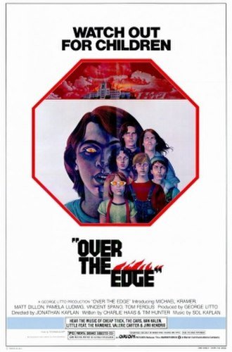 Over the Edge (film) - Theatrical release poster