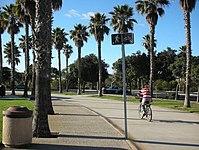 Oxnard Beach Park Entrance Barbecue Area Walkway