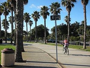 Oxnard, California - Walkway of the Oxnard Beach Park