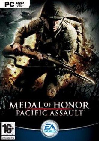 Medal of Honor: Pacific Assault - Image: Pacific Assault Box