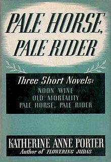 <i>Pale Horse, Pale Rider</i> book by Katherine Anne Porter