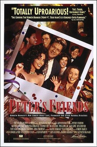 Peter's Friends - Image: Peter's Friends Film Poster