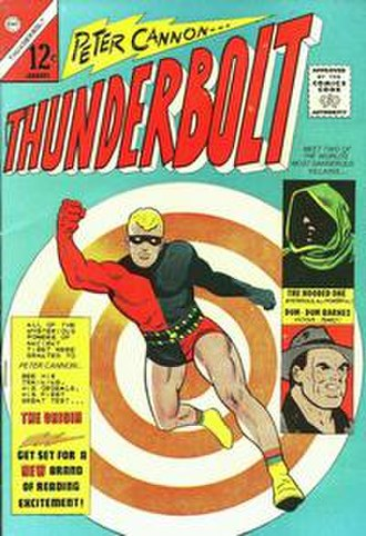 Peter Cannon, Thunderbolt - Image: Peter Cannon Thunderbolt 1