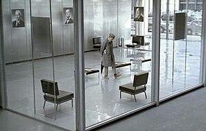 "Playtime - Jacques Tati's M. Hulot in ""Tativille."""