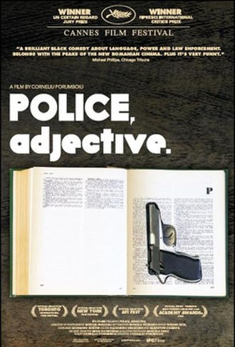 Police, Adjective - Film poster