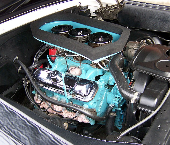 Pontiac V8 engine