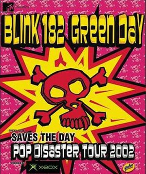 Pop Disaster Tour - Image: Pop Disaster Tour poster