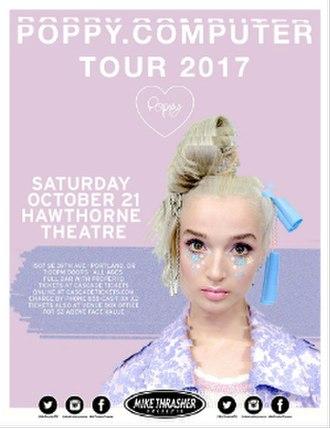 Poppy.Computer Tour - Tour poster