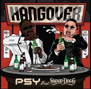 Hangover (Psy song) - Image: Psy Hangover Cover