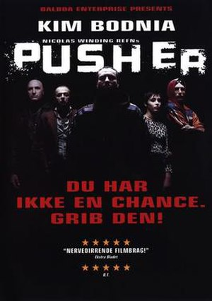 Pusher (1996 film) - Theatrical poster