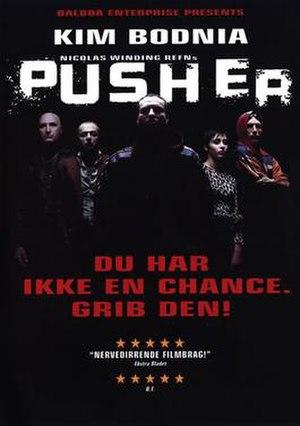 Pusher (film series) - 1996 Pusher film poster